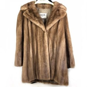 Marette Couture Furs authentic vintage mink coat